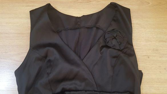 Black FRIDAY / Дамска черна елегантна рокля