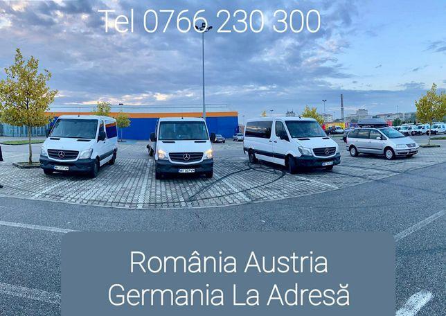Transport Persoane Romania Austria Germania Europa Belgia