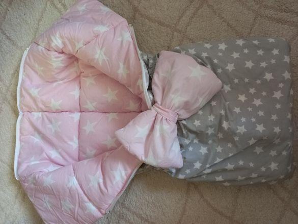 Порт бебе с възглавничка