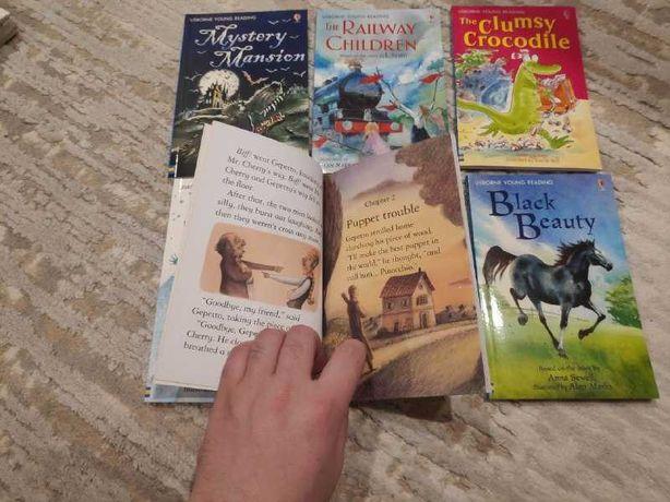 Книги Usborne Publishing на английском для детей