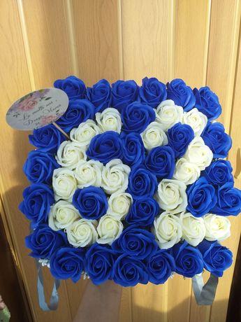 Aranjamente trandafiri/flori de sapun