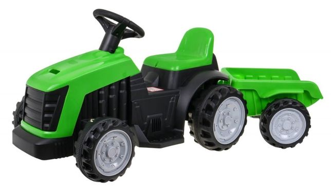 Tractor electric pentru copii cu remorca (1908), Verde