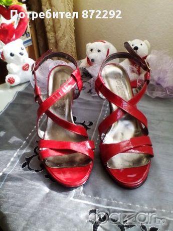 италиански сандали с токче