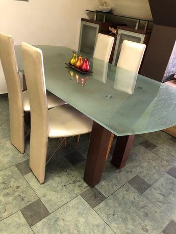 МДФ трапезна маса+столове