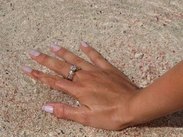Inel aur diamante 1.75 K, Model UltraDiamonds 1 3/4 ctw Flower Diamond