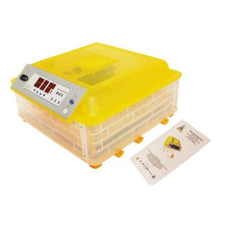 Incubator automat 180 W, 0 - 42 grade C, 48 oua gaina, 132 prepelita