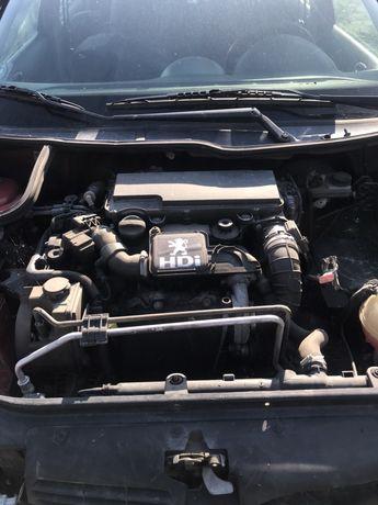Ansamblu stergatoare cu motoras Peugeot 206