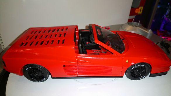 Ferrari 1:18 и 512M Testarossa,targa,spider