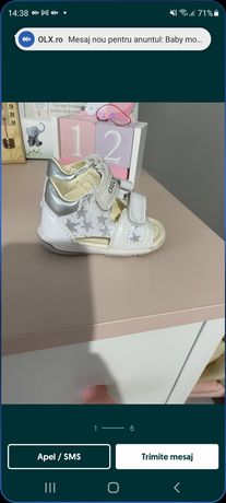 Sandale geox marime 18
