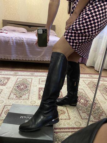 Сапоги обувь натуральная кожа 37р 5000 тг