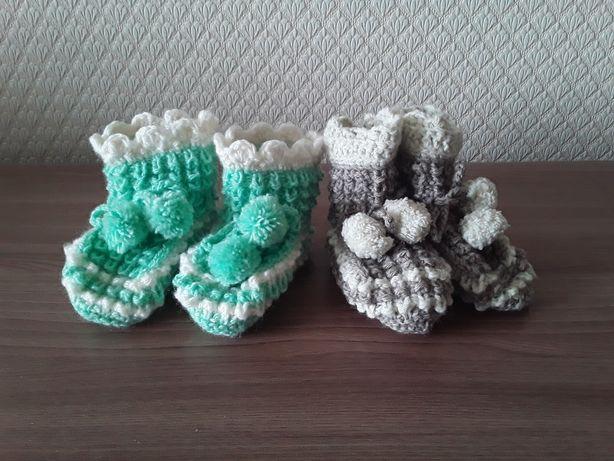 Вязаные носки для детей, взрослых.