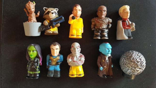 Set 10 figurine originale MARVEL Gardienii Galaxiei