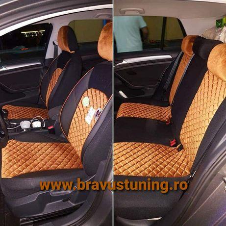 Huse scaun auto VELUR BMW Seria 3,Audi A4/A6,Skoda,Passat,Duster