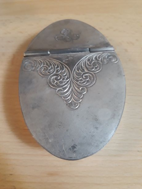 Caseta veche argint