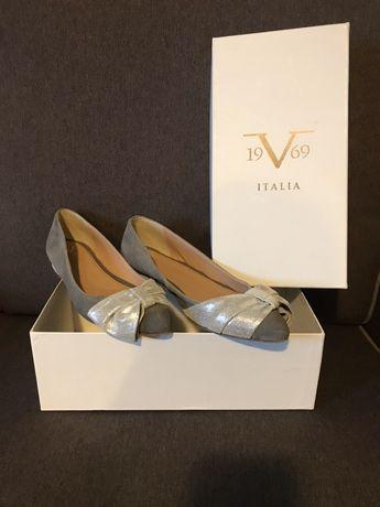 Balerini / pantofi  Versace din piele mar 39