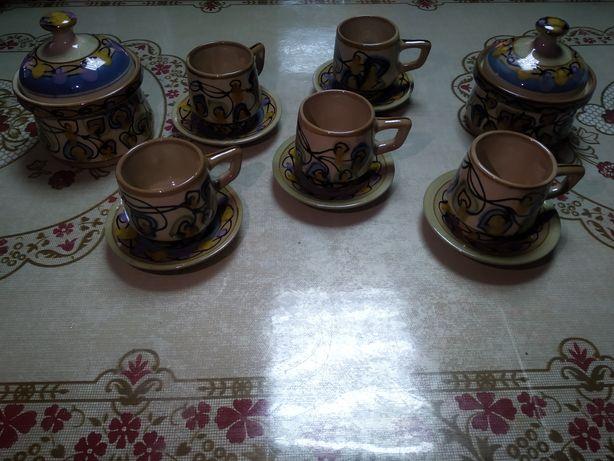 Керамическая посуда два набора разных