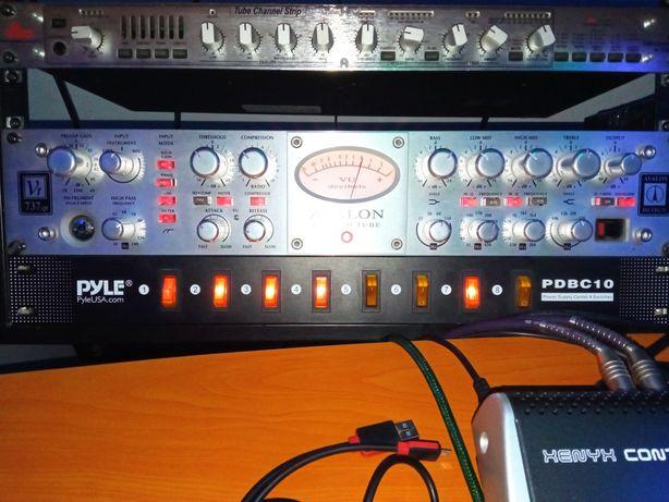 AvalonVT-737sp Tube Channel Strip  Микрофонный предусилитель преамп