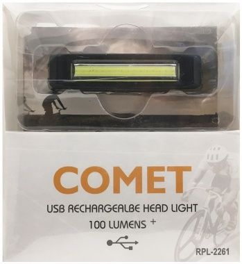 Lanterna pentru bicicleta, cu acumulator, LED COB