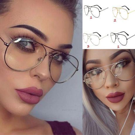 Разпродажба-50% Аviator Дамски очила без диоптър защита UV 400