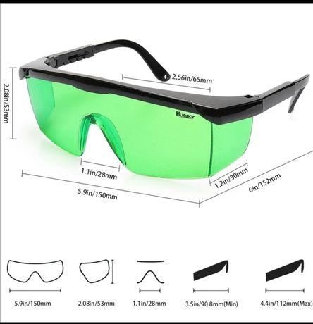 ochelari protectie laser HUEPAR verde