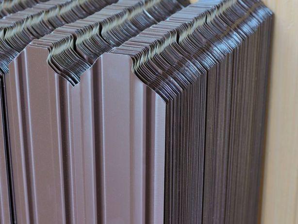 Sipca metalica maro 0.5mm*98mm(util)*1000mm