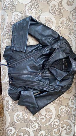 Продам кожаный куртка