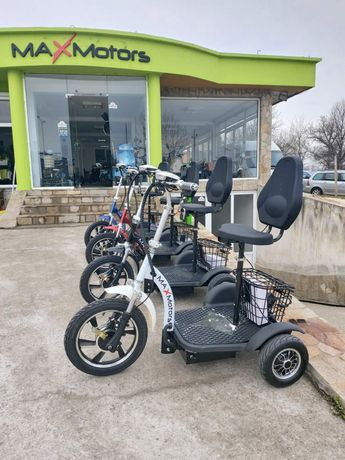 Електрически скутер триколка скутер 750w задно задвижване MaXmotors