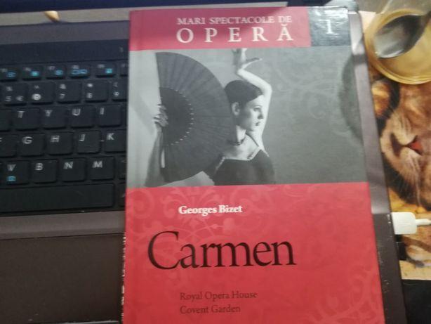 """Colecţia """"Mari spectacole de operă"""": """"Carmen"""""""