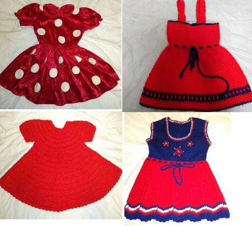 Бебешки плетени роклички