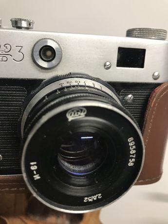 Ретро фотоапарат ФЕД З, работещ!