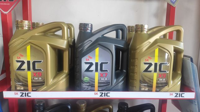 Моторные масла ZiC ( Южная Корея)