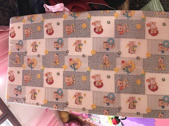 Бебешки матрак 110/60 6 см дунапрен