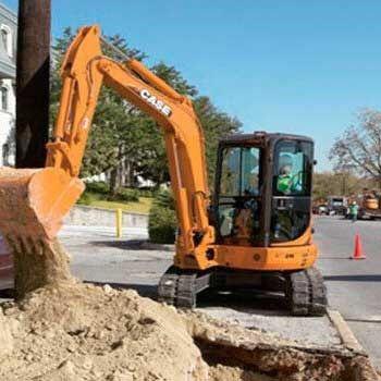 Execut diverse lucrări cu mini-excavator 5 tone si camion
