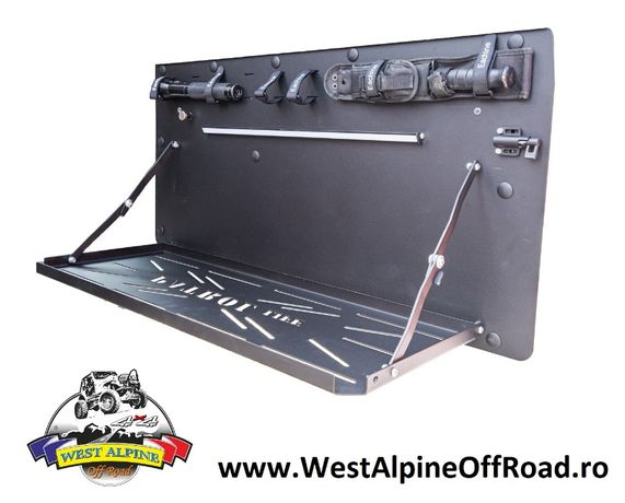 Masa Nissan Patrol Y61 - Usa spate plianta - Iluminata LED - OFF ROAD