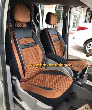 Set complet huse scaun auto VELUR Audi,BMW,Skoda,Opel,Vw Passat,Duster