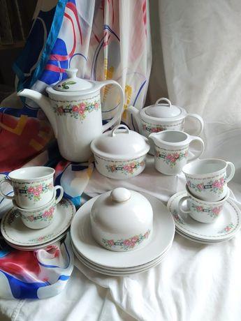 Чайный сервиз ,Гдр в коллекционном состоянии
