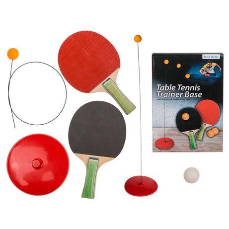 Тренажор за тенис на маса - тренирайте навсякъде