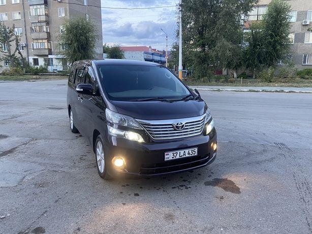 Toyota Vellfire учет Армения
