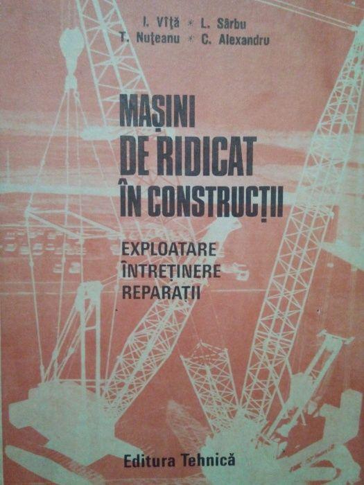 Carte Masini de ridicat in constructii
