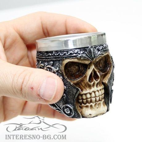 Атрактивни чашки(шот) череп