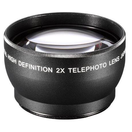 Телефото конвертор 2x Zoom за 52мм 55мм 58мм / Telephoto converter