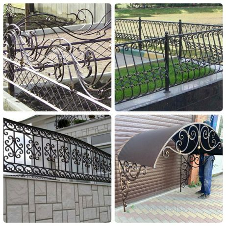 Беседки,навесы,ворота,мангалы,ворота,заборы,оградки на заказ