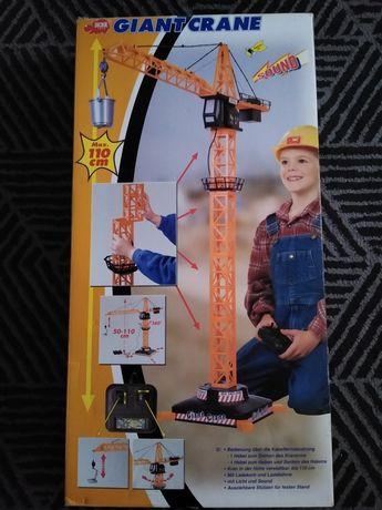 Vând macara jucărie electrică cu telecomandă