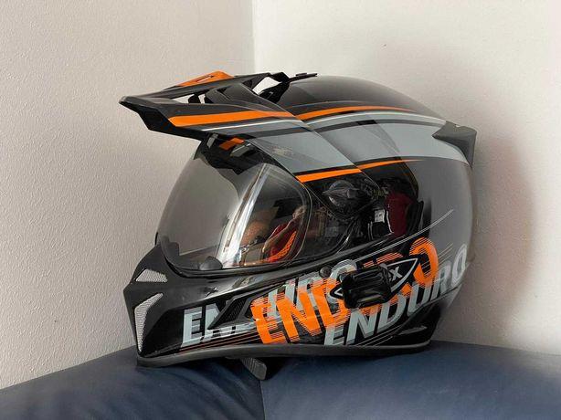 Casca moto UVEX Enduro SLT ( Fullface atv, cross, downhill)