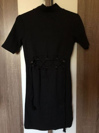 Черна рокля Zara
