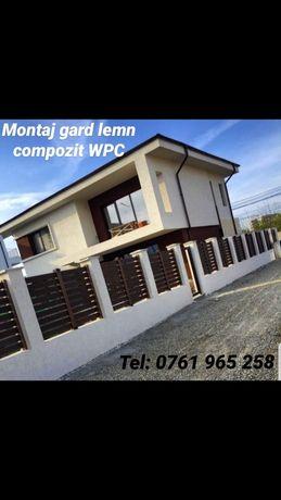 PROFILE -Gard wpc lemn compozit