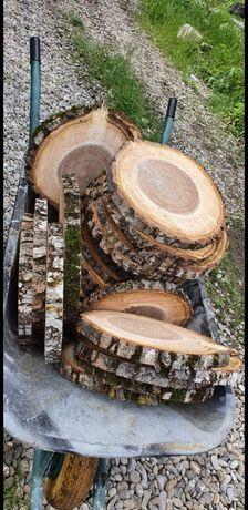 Rondele,Felii din lemn esente diferite