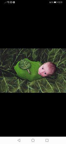 Esarfa de infasat pentru bebeluși fetita, băiat, props, wrap, recuzita