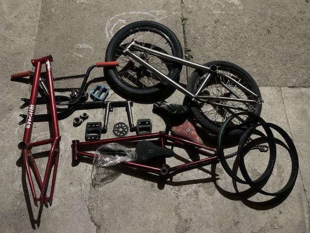 Продам, либо обменяю детали на трюковой велосипед, либо целиком