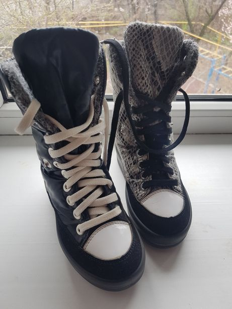 ботинки зимние унисекс